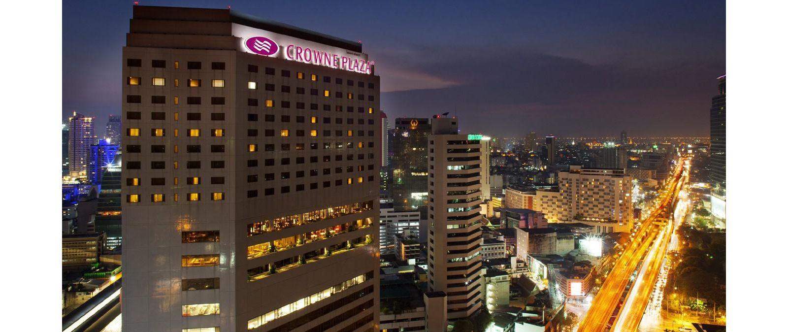 Crowne Plaza Bangkok Lumpini Park Bangkok Thailand