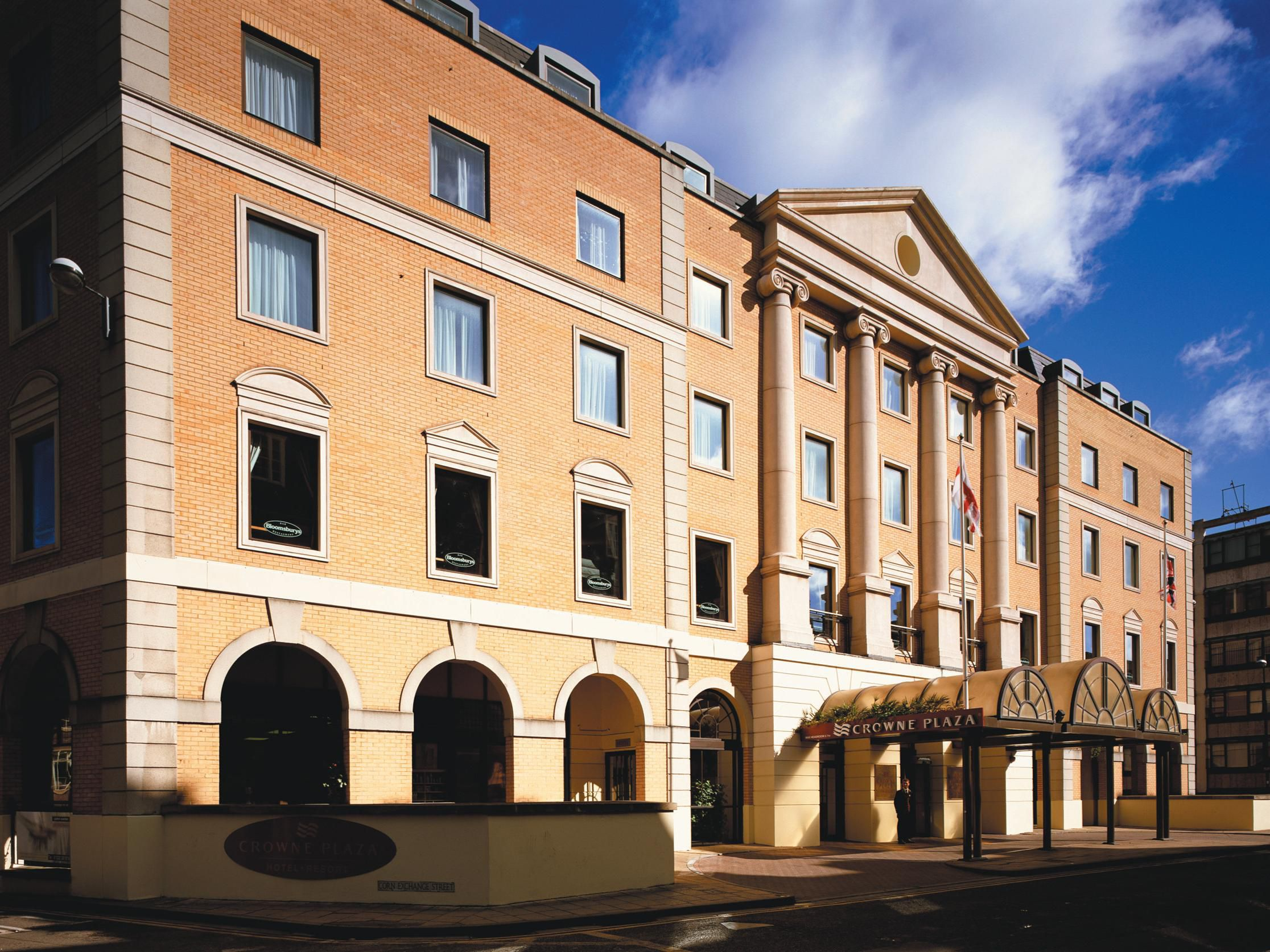 Crowne Plaza Hotel located on Downing Street, Cambridge