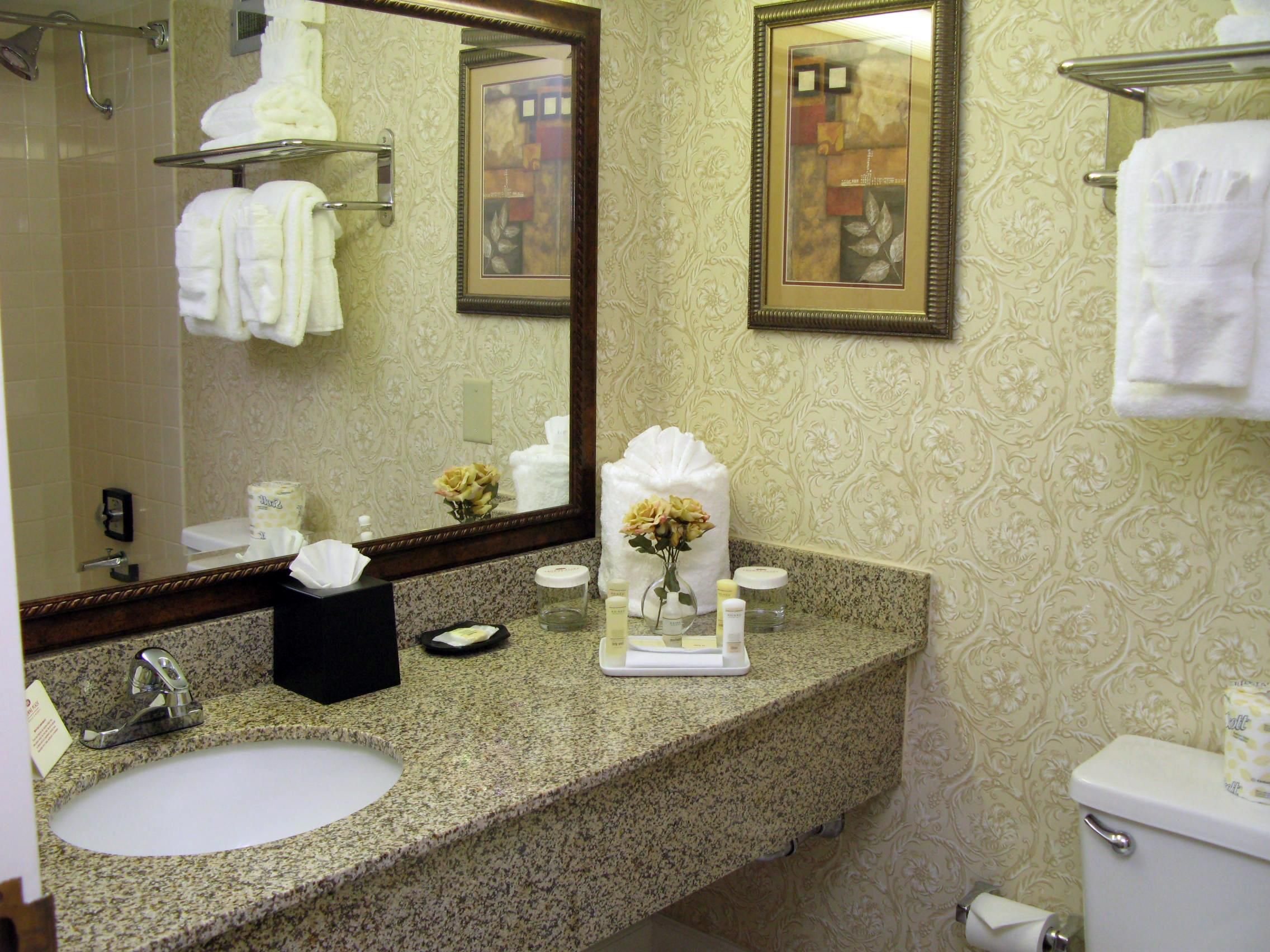 Crowne Plaza Charlotte hotel Guest Bathroom