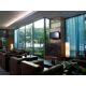 Floor to ceiling windows are featured in our lobby bar.