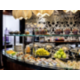 Club Lounge Canapé station - tea, coffee, assorted canapés/snacks