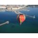 La ville de Genève au bord du lac Léman