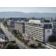 Façade de l'hôtel, avec vue sur la ville ou la montagne