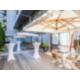 Terrasse pour des événements, cocktails et réceptions