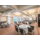 Light and spacious banquet room for any kind of festivities