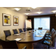 Executive boardroom with natural daylight