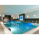 Heated swimming pool and spa pool