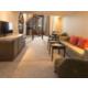 Living Area in Duplex Suite
