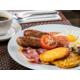 Full English Breakfast in the restaurant