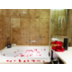 Temple Spa amenities. Rose petals available upon request
