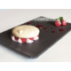 Red fruits macaron - dessert of the Bistrot Rive Gauche