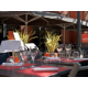 Terrace of restaurant BRG, in the heart of Cite Internationale