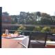 Balcony with view over the Parc de la Tete d'Or