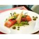 Salmon prepared confit, Bistrot Rive Gauche