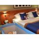 Superior room balcony king bed