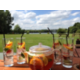 Beverage Selection: Pimms on the Lawn