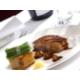 Black Spot Pork Belly, Cabbage, Fondant Potato, Cider, Apple Jus