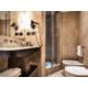 Standard room bathroom