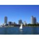 Sailing on the banks of Lake Michigan