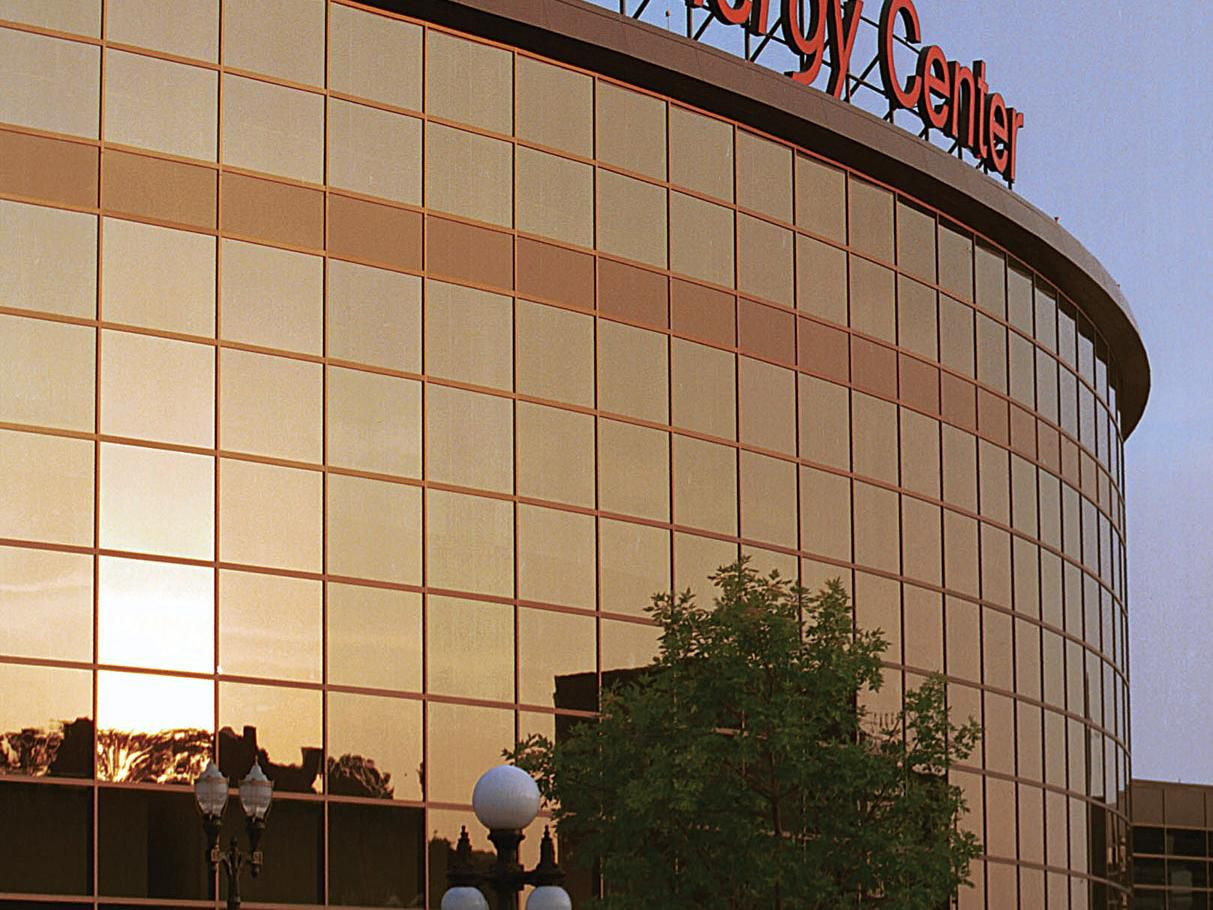 Visit the Xcel Energy Center and stay at the Crowne Plaza