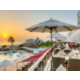 Terrace of Dukes Bar & Restaurant, overlooking Gulf of Oman