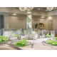 Crystal Ballroom Wedding Table