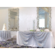 Crystal Ballroom Wedding Head Table