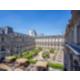 Vue sur la terrasse Napoléon III située au 1er étage