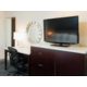 Work Desk, Modern Ergonomic Desk Chair and Media Center