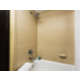 Clean and spacious bathrooms in all our suites.