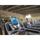 Moderne Cardio Geräte mit Internet, TV und iphone Anschluss.