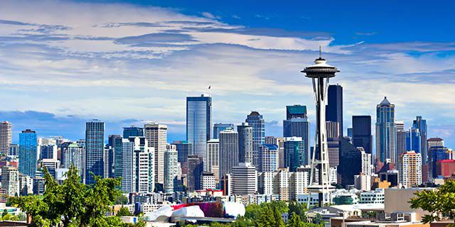 View hotels in Seattle