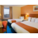 Holiday Inn Aberdeen Twin Guest Room with double and single bed