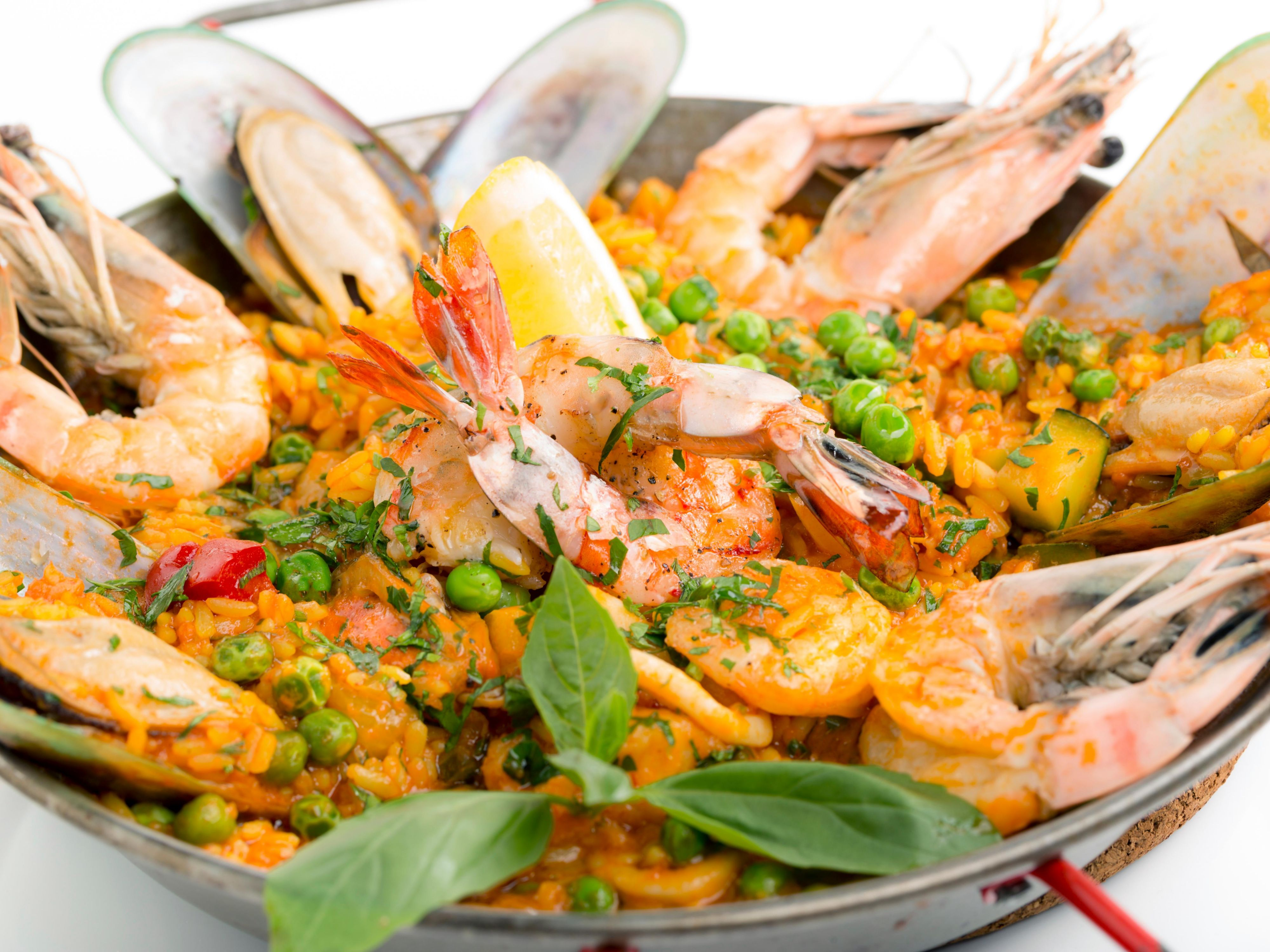 Love seafood, paella or both? We serve it just the way you like it