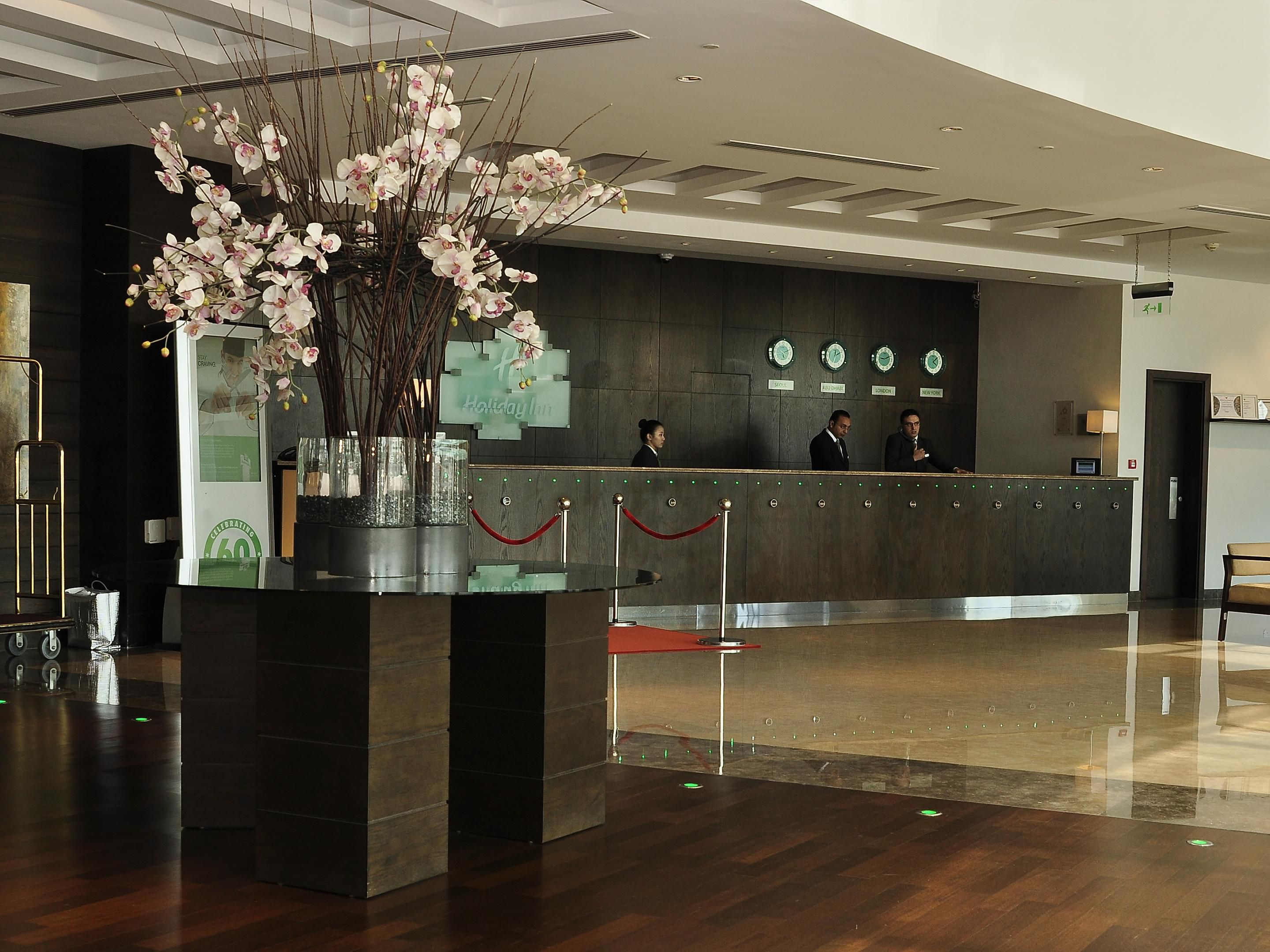Our welcoming lobby
