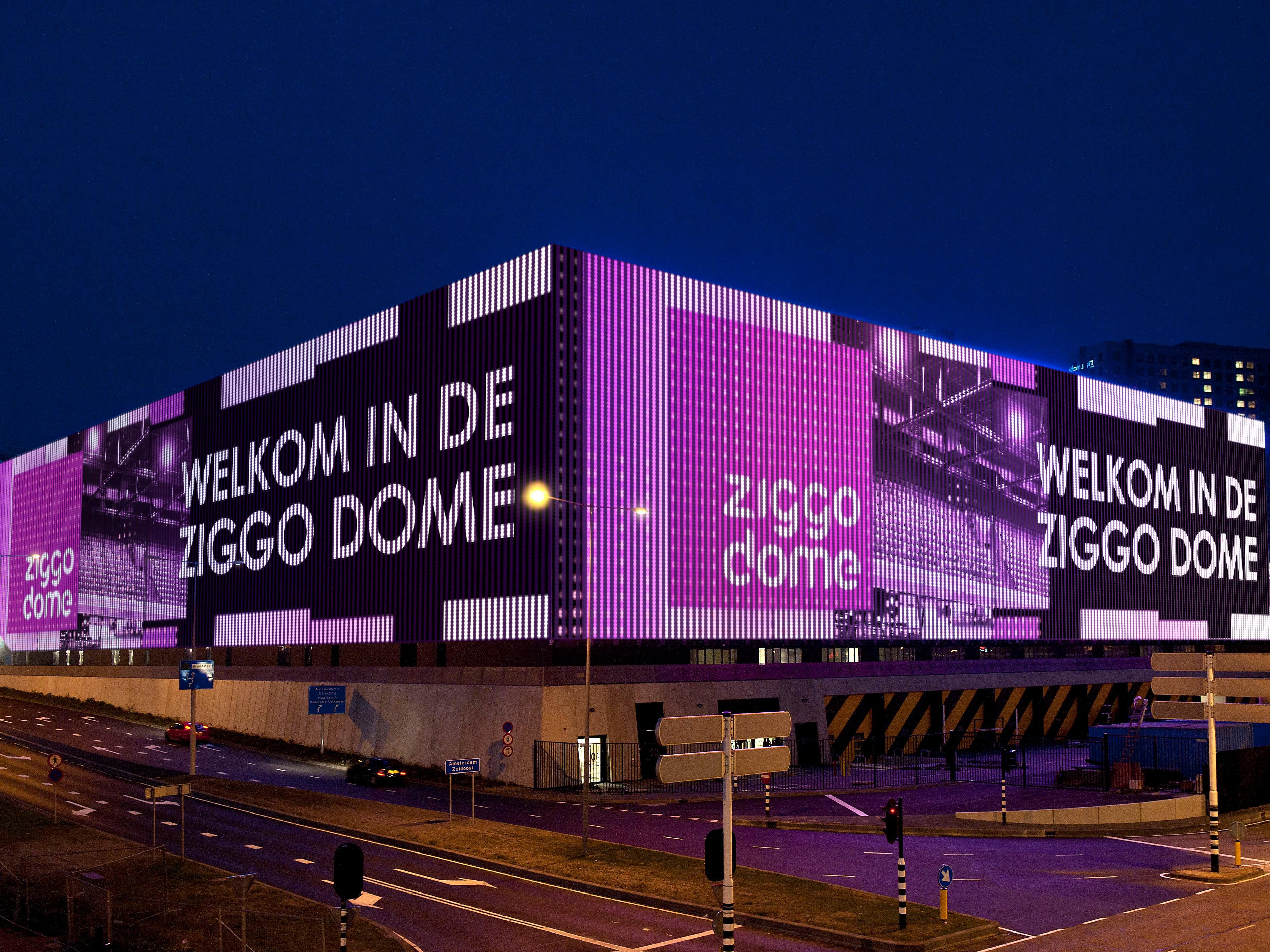 Ziggo Dome - Largest concert hall of The Netherlands.