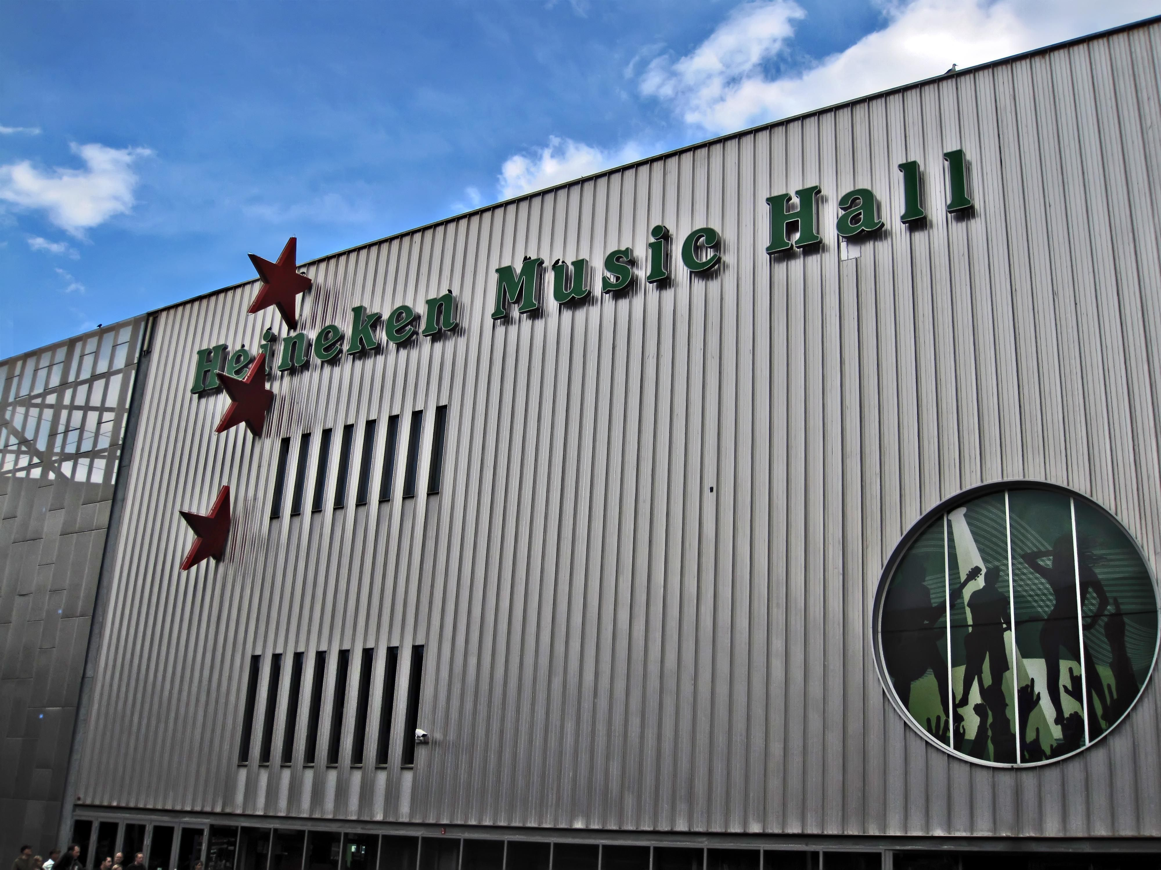 Heineken Music Hall - One of the best pop podiums in Holland.