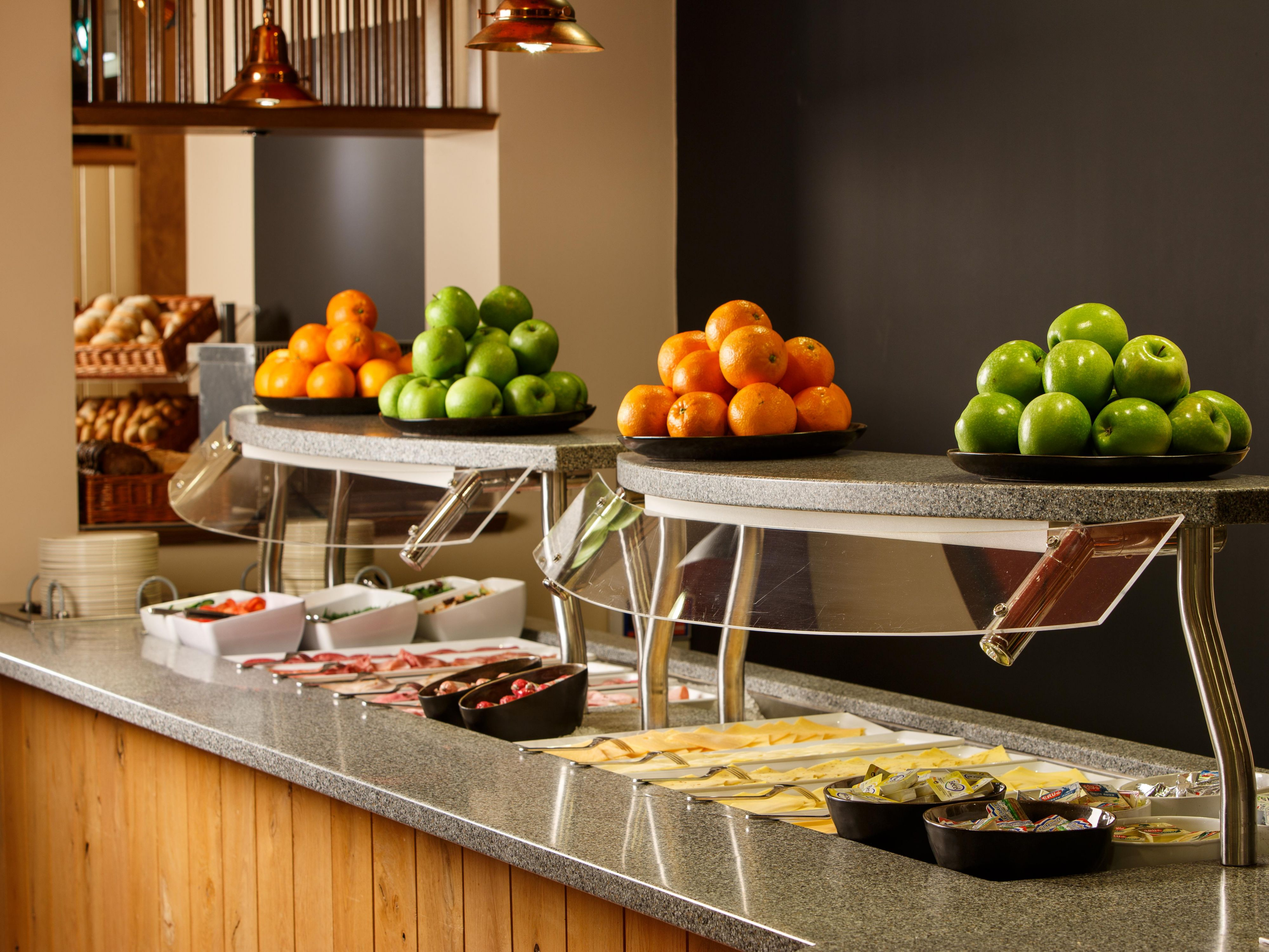 Our Breakfast Buffet is available every morning