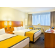 High Floor light filled Family guestroom with two double beds
