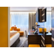 Executive room with king size bed and spacious working desk