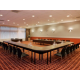 U-Shape meeting room set-up, all rooms with natural daylight