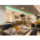 Enjoy our freshly made breakfast, live cooking at Chef's station