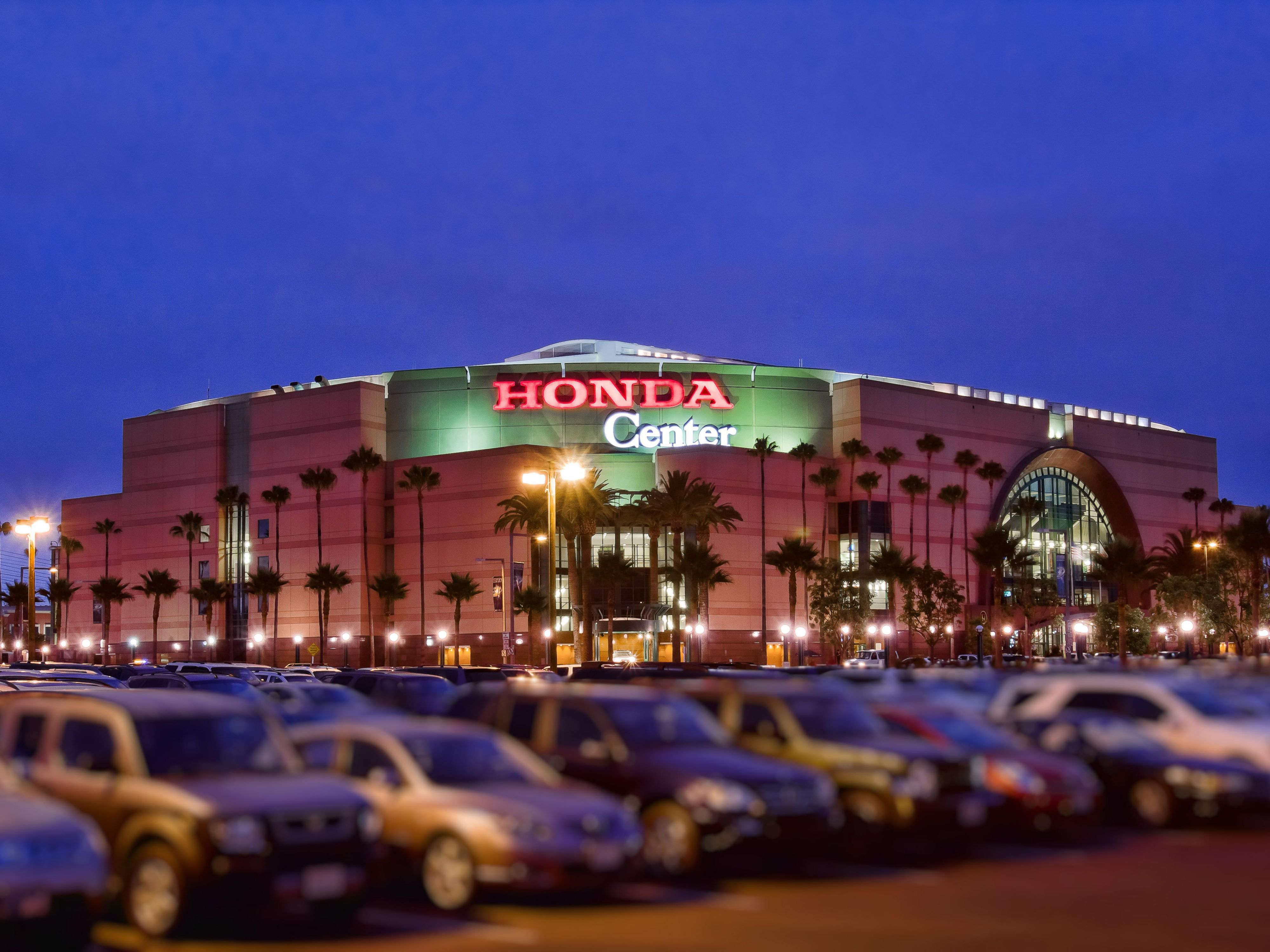 The Honda Center Anaheim
