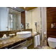 Contemporary Two Twin Nonsmoking Guest Bath
