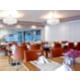Enjoy dinner at Monde Restaurant's Upstairs Dining Room