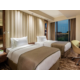 A relaxing guest room
