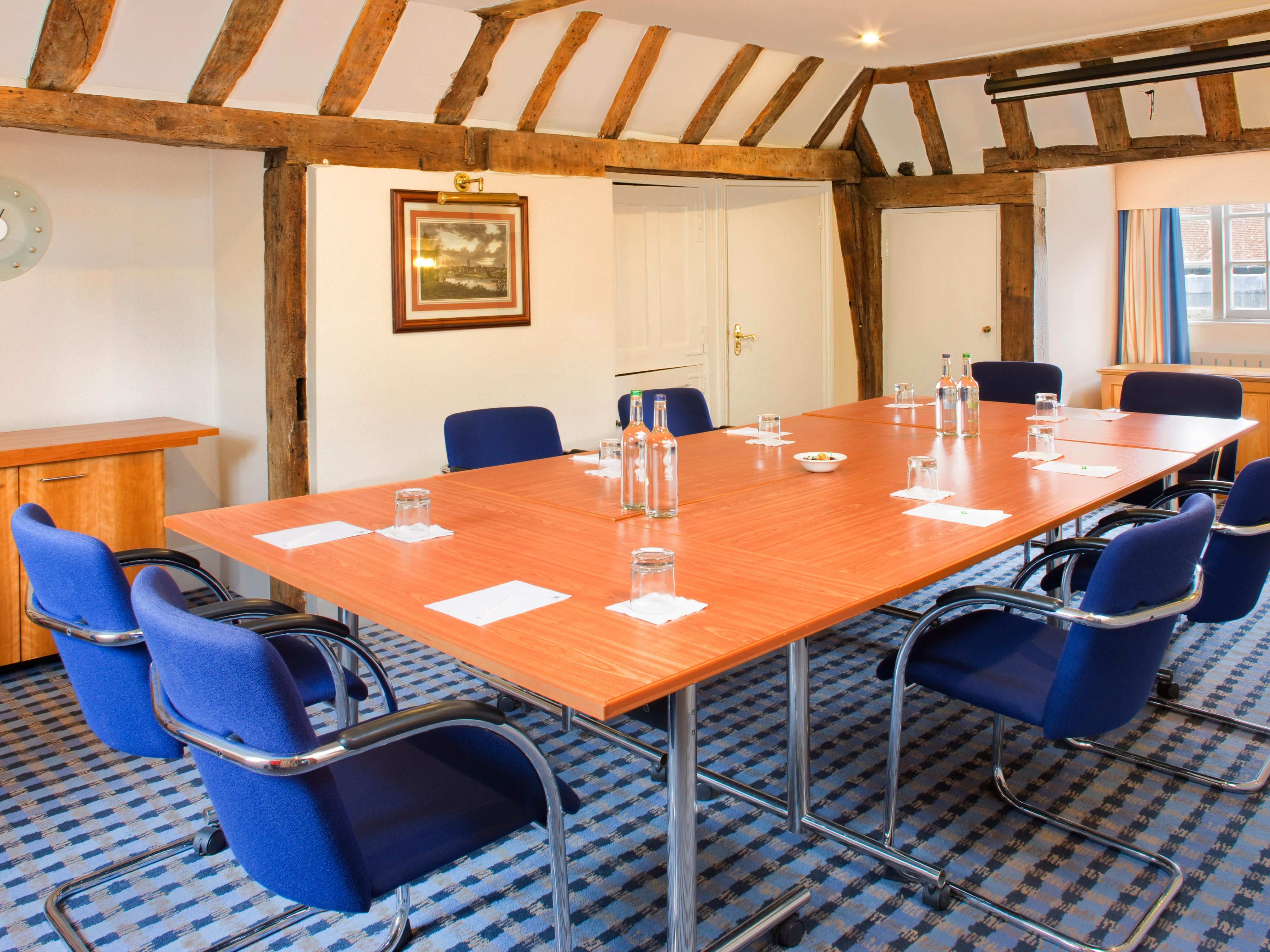 Chilham suite meeting set up