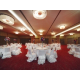 Our Beautiful Ballroom with banquet style.
