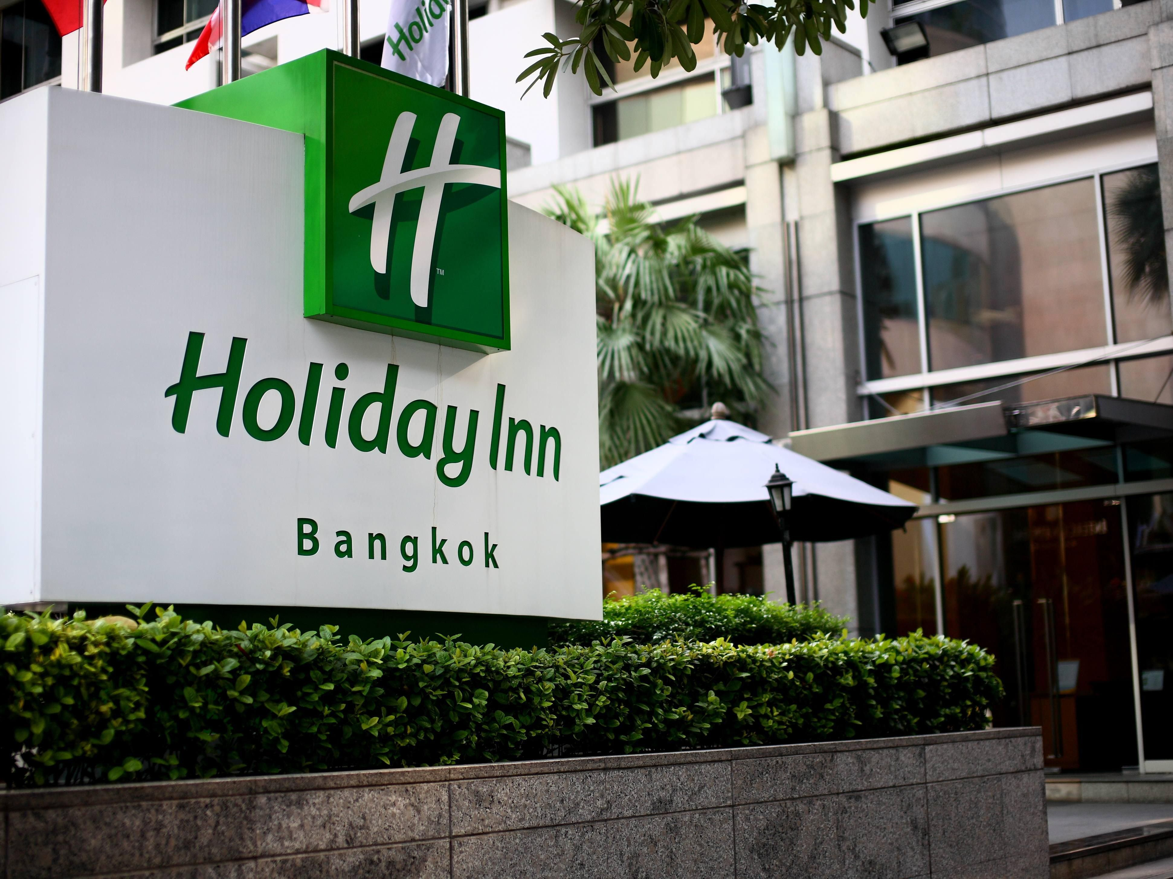 Holiday Inn Bangkok - Entrance