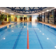 Swimming at the onsite Bannatyne's Health Club